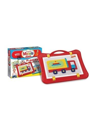 Dede Dede Mozaik Puzzle Oyunu 280 Parça Eğitici Şekiller Lego Yapboz Renkli